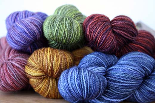 Sundara Yarn Artist's Choice Sock Collection
