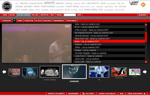 screenshot 3VOOR12TV