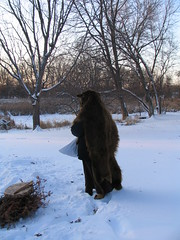 Got Your Back, Minneapolis, Minnesota, Winter Solstice, December 21st 2008, photo © 2008 by QuoinMonkey. All rights reserved.