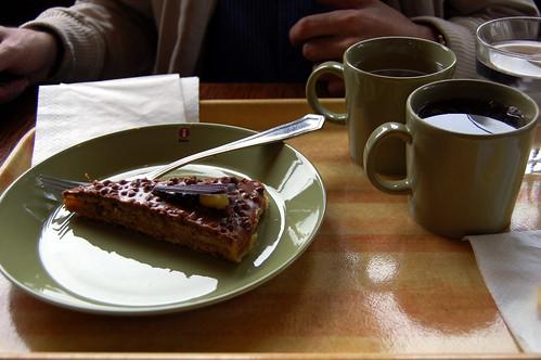 Daim Cake and Tea
