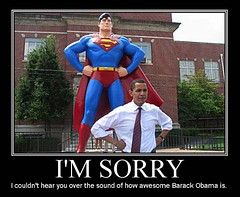 Obama Superman Awesome