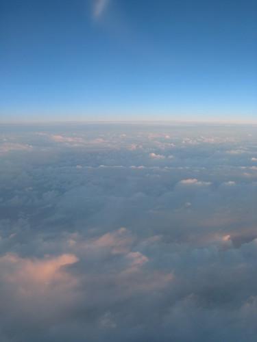 Above the Atlantic