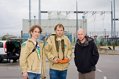Greenpeace in Nuclear plant Krsko in Slovenia