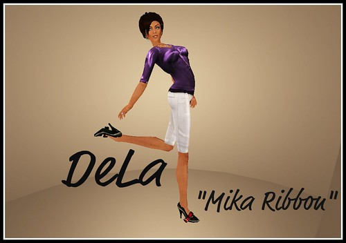 "Shoe Expo - DeLa ""Mika Ribbon"""