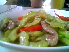 Bitter gourd with beef