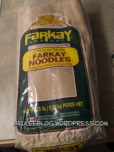 Farkay noodles
