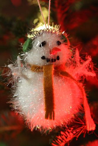Fuzzy Snowman