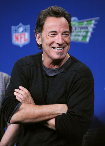 the boss at the superbowl
