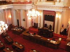 CA State Senate chamber
