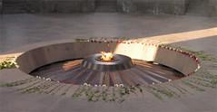 Armenien Mahnmal Ewige Flamme