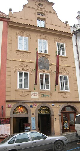 Restaurant in Nerudova Street