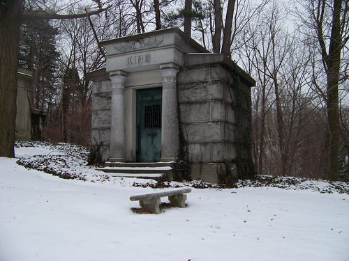 King Mausoleum in Egyptian revival style