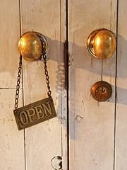 Let's open the door to...