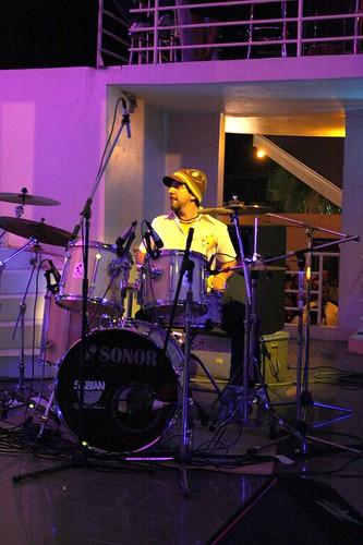Airi Ingram soops up the Manus Beats by you.