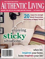 authentic living magazine