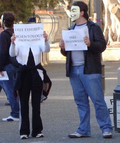 protesting brainwashing