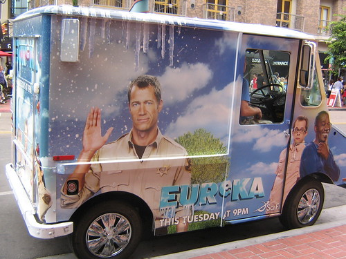 Eureka Ice Cream truck