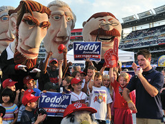 Teddy Roosevelt Fans at Nationals Park