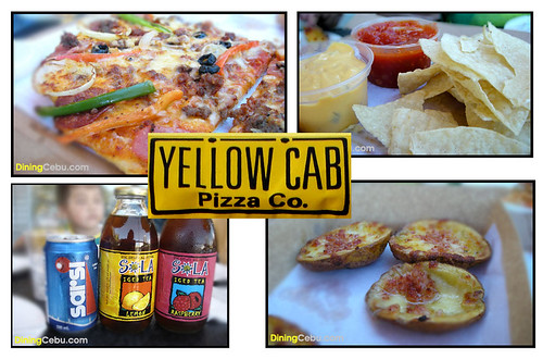 pizza restaurant in cebu yellow cab terraces ayala cebu