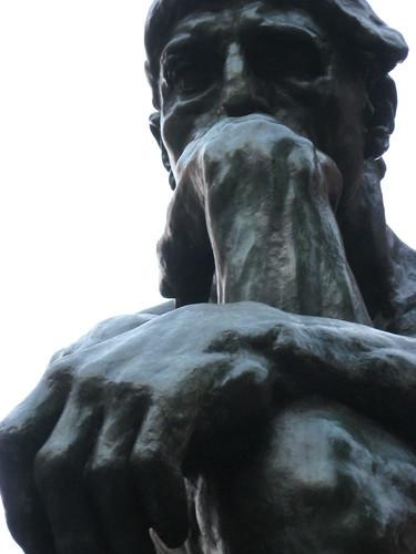 Resultado de imagen de el pensador detalles