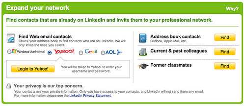 LinkedIn: Expand your network