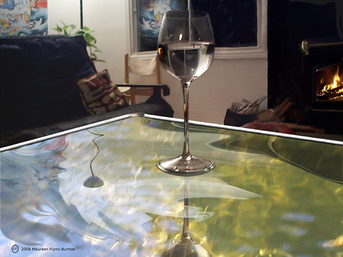 Glass Ceiling Fire Water II
