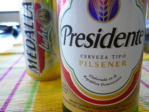 But not the Presidente from the Dominican Republic...