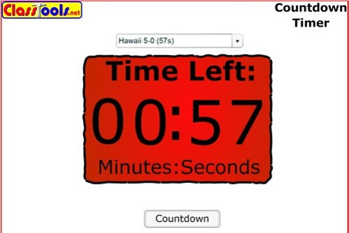 classtools countdown