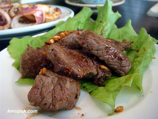 Beef Teppanyaki