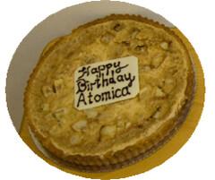 Happy birthday Atomica!