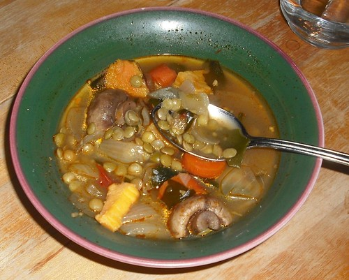 vegetable-lentils