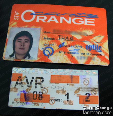 Carte Orange (�ันนี้แบบรายเดื�น)