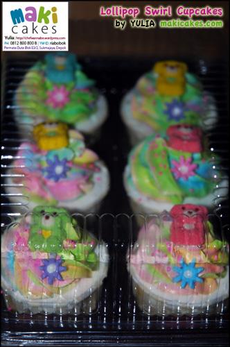 Lollipop Swirl Sample - Maki Cakes