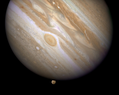 Moonset on Jupiter by TailspinT.
