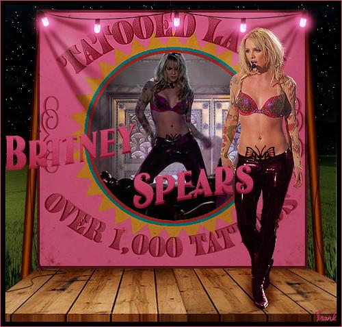 Britney Spears - Tattooed Lady (La Dama Tatuada)