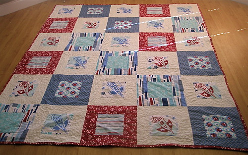 Rocket Quilt for Liam