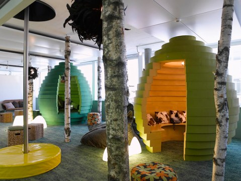 "Google Office ""Cubicles"" in Zürich"