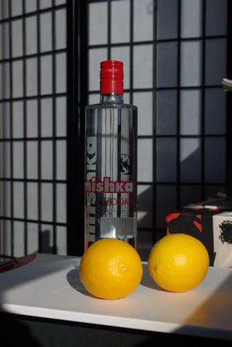 Meyer lemon vodka essentials
