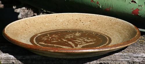 H.R. Hughan. Stoneware bowl