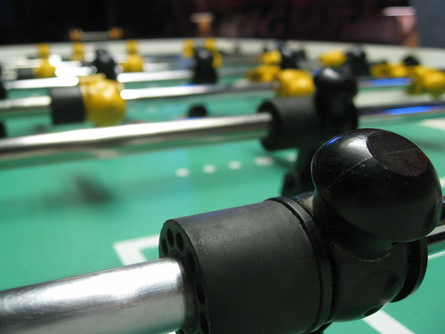 The Game of Foosball