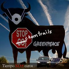 Toro de Osborne Greenpeace por TiempoSOScuros