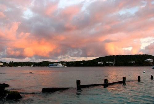 Virgin Island Sunrise