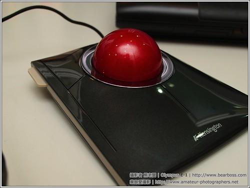 間諜照: SlimBlade TrackBall Mouse