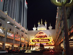 Trump Taj Mahal Entrance
