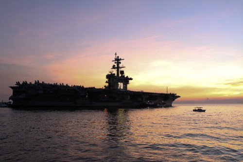 USS Carl Vinson in Manila - 3