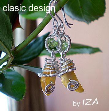 cercei-chihlimbar-bijuterii argint si pietre semipretioase by you.