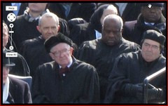 Justice Clarence Thomas Asleep at President Ba...