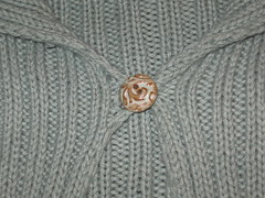 button on sweater