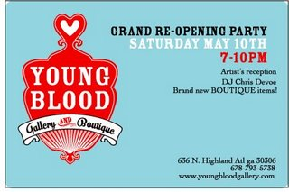 Young Blood's Grand Re-Opening