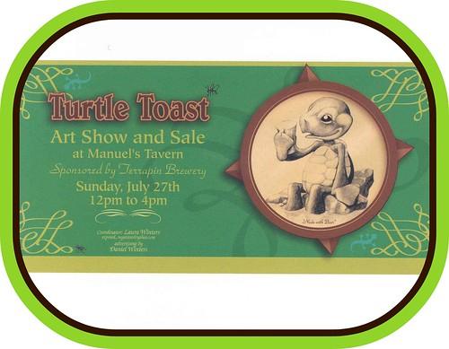 Turtle Toast Art Show & Sale